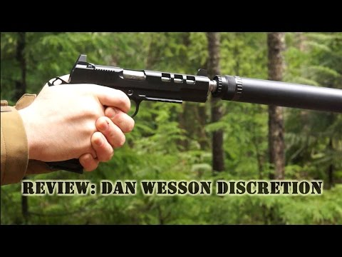 Dan Wesson Discretion Range Review - CZ-USA