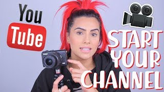 HOW TO START A SUCCESSFUL YOUTUBE CHANNEL | Equipment