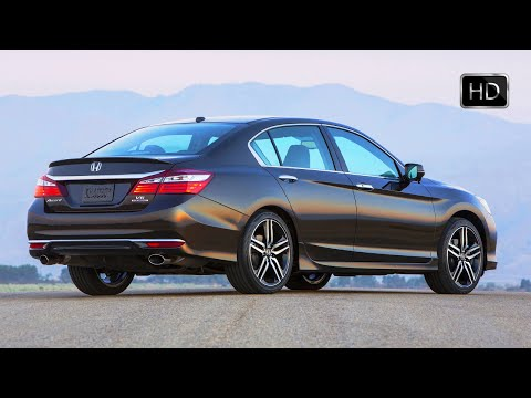 2016 Honda Accord Sedan V6 Touring Exterior & Interior Overview HD