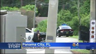 Gunman In Panama City Police Standoff, Shootout Found Dead