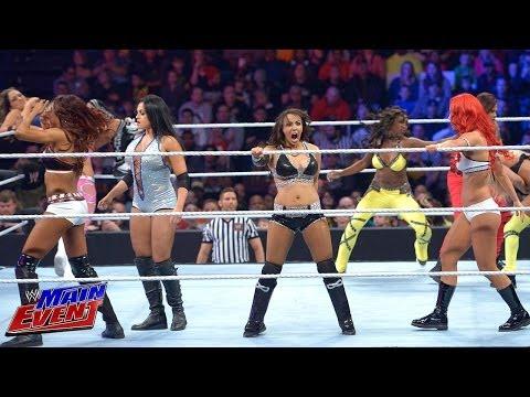 Divas Championship No. 1 Contender Battle Royal: WWE Main Event, April 15, 2014