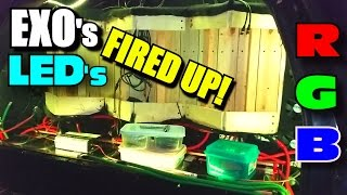 EXO's LED Lights FIRED UP / Cheap DIY Light Kit from EBAY | Bright SMD5050 RGB LEDS & Remote Control