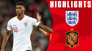 England 1-2 Spain |  Last-minute Equaliser Controversially Ruled Out |  Highlights