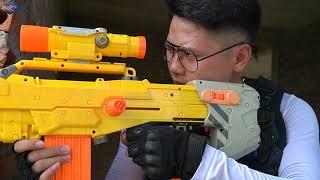 Nerf Guns War : Captain Seal Team Nerf Guns Fight Criminal Groups Bandits Diamond