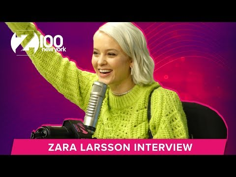 Shelley Rome - Zara Larsson Had A Hard Time Picking The Single Off Her New Album