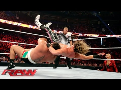 Dolph Ziggler Vs. Rusev: Raw, Aug. 31, 2015