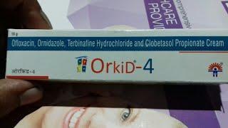 Orkid - 4 Cream ( पुराने से पुराने दाद ,खाज और खुजली ठीक करे ) Use Full Hindi Review