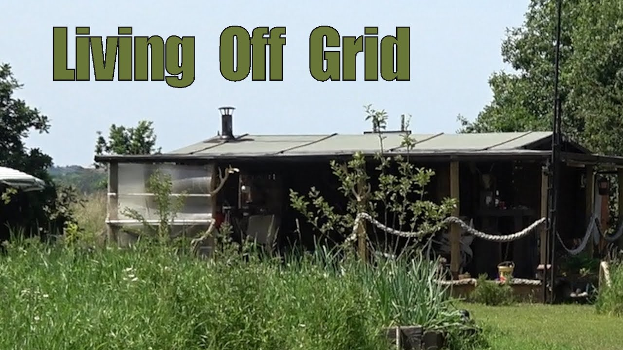 Living in a Off Grid Cabin