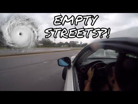 Street Drifting After Hurricane Irma