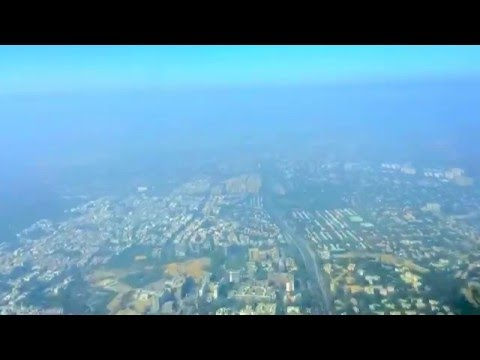 Timelapse Approach to New Delhi, India