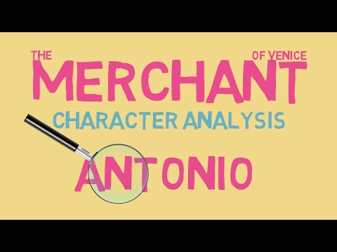 The Merchant of Venice: Analysis of Antonio (GCSE Shakespeare)
