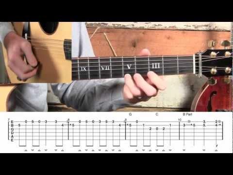 100% FREE VIDEO/TAB! - Black Mountain Rag Guitar Lesson!