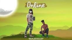"""Afrobeat type beat [ Afro Dancehall Instrumental 2020 ] - """"Online"""""""