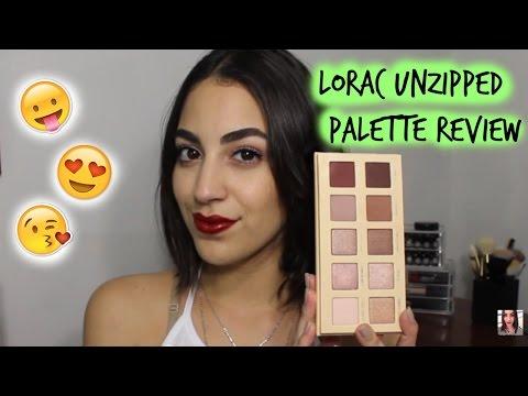 Lorac Unzipped Palette Review! ♛