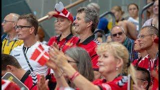 Kronprinsen støtter veteraner ved Invictus Games