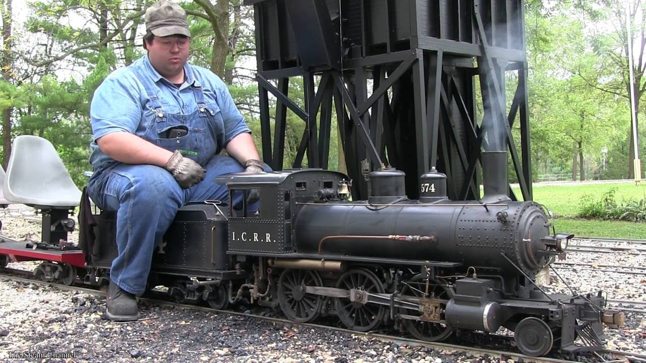 How To Operate A Live Steam Locomotive V2 0 In HD
