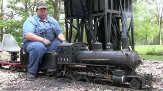 how to operate a live steam locomotive v20 in hd