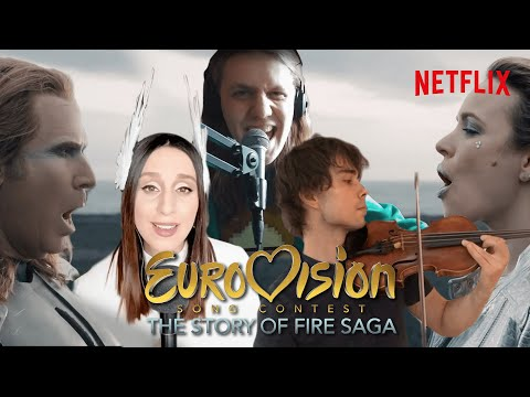 Legendary Eurovision Contestants Cover Volcano Man | Netflix