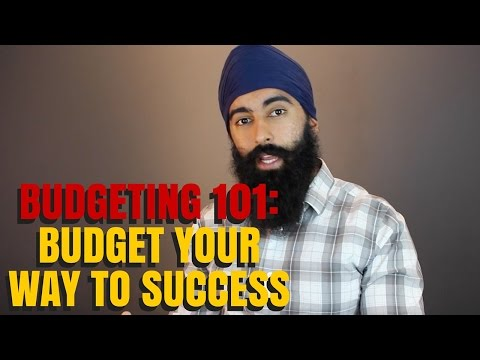Budget Your Money To Financial Success – Budgeting 101   Minority Mindset – Jaspreet Singh
