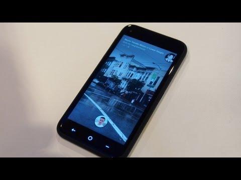 Facebook Home and HTC First detail walkthrough