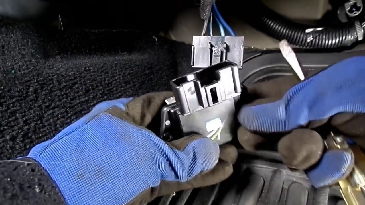 Dodge Journey Blower Motor Resistor Replacement Youtube Ac Wiring