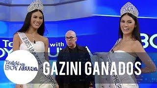 Gazini shows off her