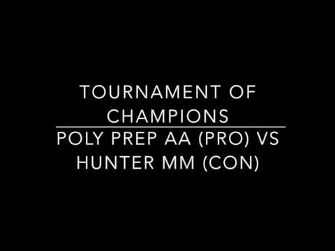 Poly Prep AA vs Hunter College MM TOC 2016 Octos