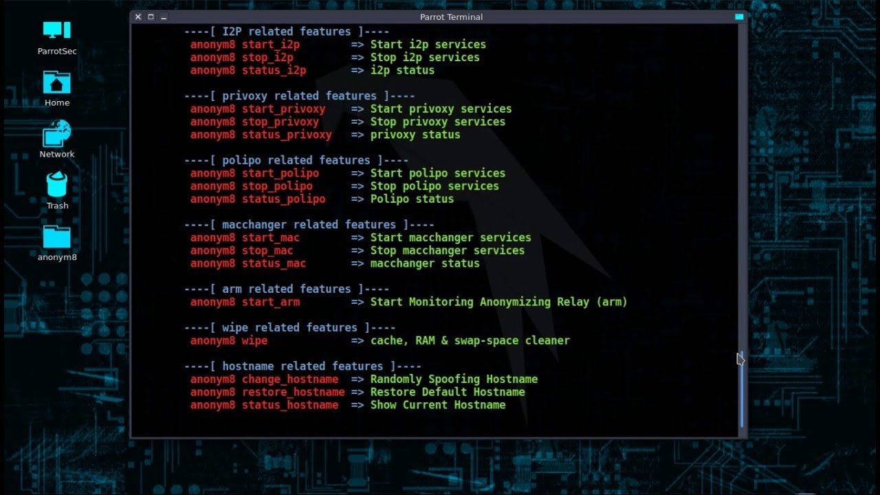 How to Install and Use Anonym8 to change IP, MAC Address in Kali Linux