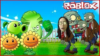 Novo PLANTS VS ZOMBIES no Roblox