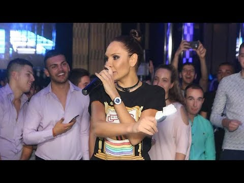 Lorena - Vse mi e taya  live @ Plazza Dance, Sofia