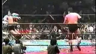 1990年4/19日、最後の鶴龍対決。