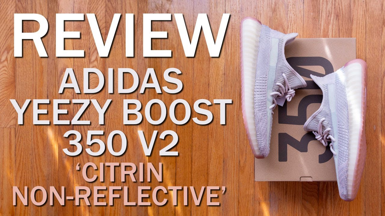 adidas Yeezy Boost 350 V2 Citrin (Non Reflective)