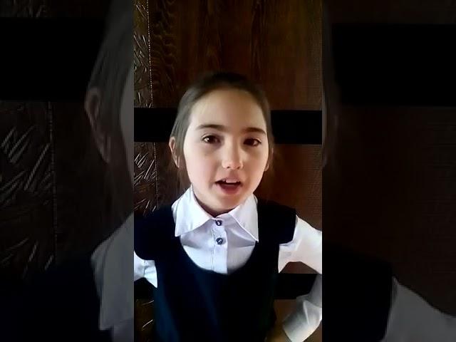 Изображение предпросмотра прочтения – ДианаИсаева читает произведение «Частушка» (Русский фольклор )