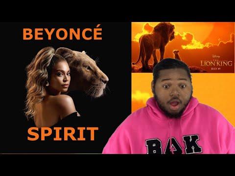 BEYONCÉ x SPIRIT (from The Lion King)   REACTION !!