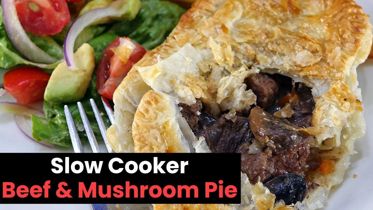 Steak And Mushroom Pie Slow Cooker - All Mushroom Info