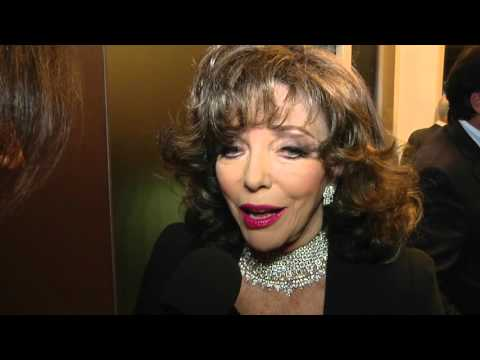 ¡HOLA! TV - JOAN COLLINS @ Roberto Coin Flagship Store Grand Opening, Miami Design District