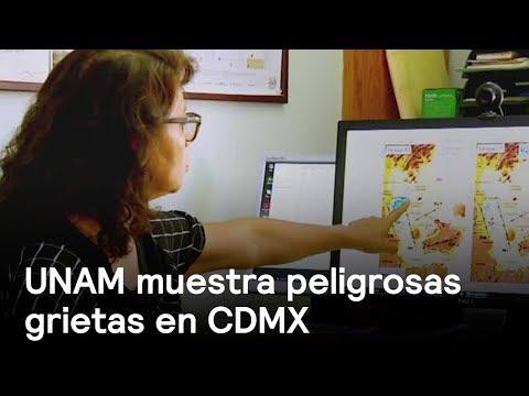 UNAM muestra peligrosas grietas bajo la CDMX - Sismo - En Punto con Denise Maerker