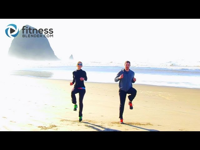 Cannon Beach HIIT Cardio Workout - Fast High Intensity Interval Training Cardio Routine