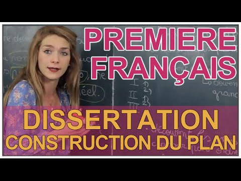 Dissertation methode francais