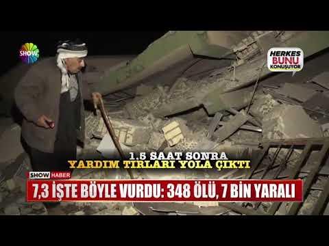 7,3 Işte Böyle Vurdu: 348 ölü, 7 Bin Yaralı