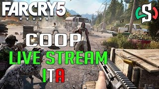 Far Cry 5 - COOP ONLINE - DEVASTIAMO IL MONDO! - Live Stream  ITA