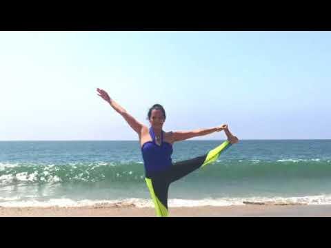 Yoga en la Playa  Malibu beach