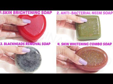 Homemade Soap for Skin whitening | Magical Skin Whitener Soap | Anti Bacterial Soap | Skin Care