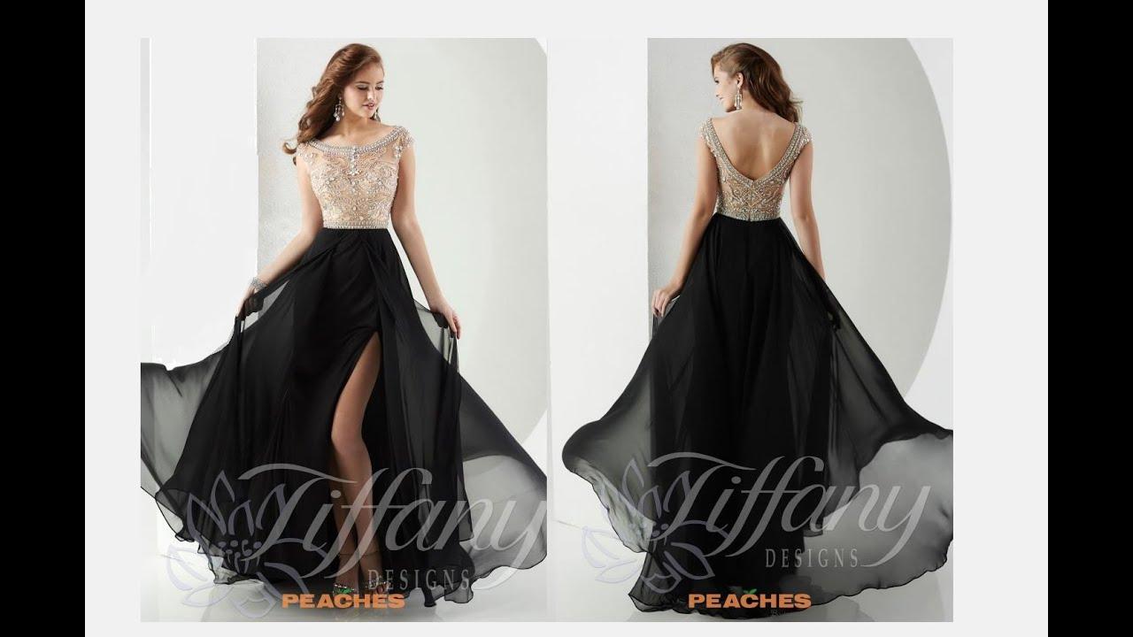 7de745f1af5 Tiffany Prom Dress 16148 - YouTube