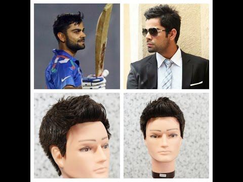 Virat Kohli Haircut Tutorial