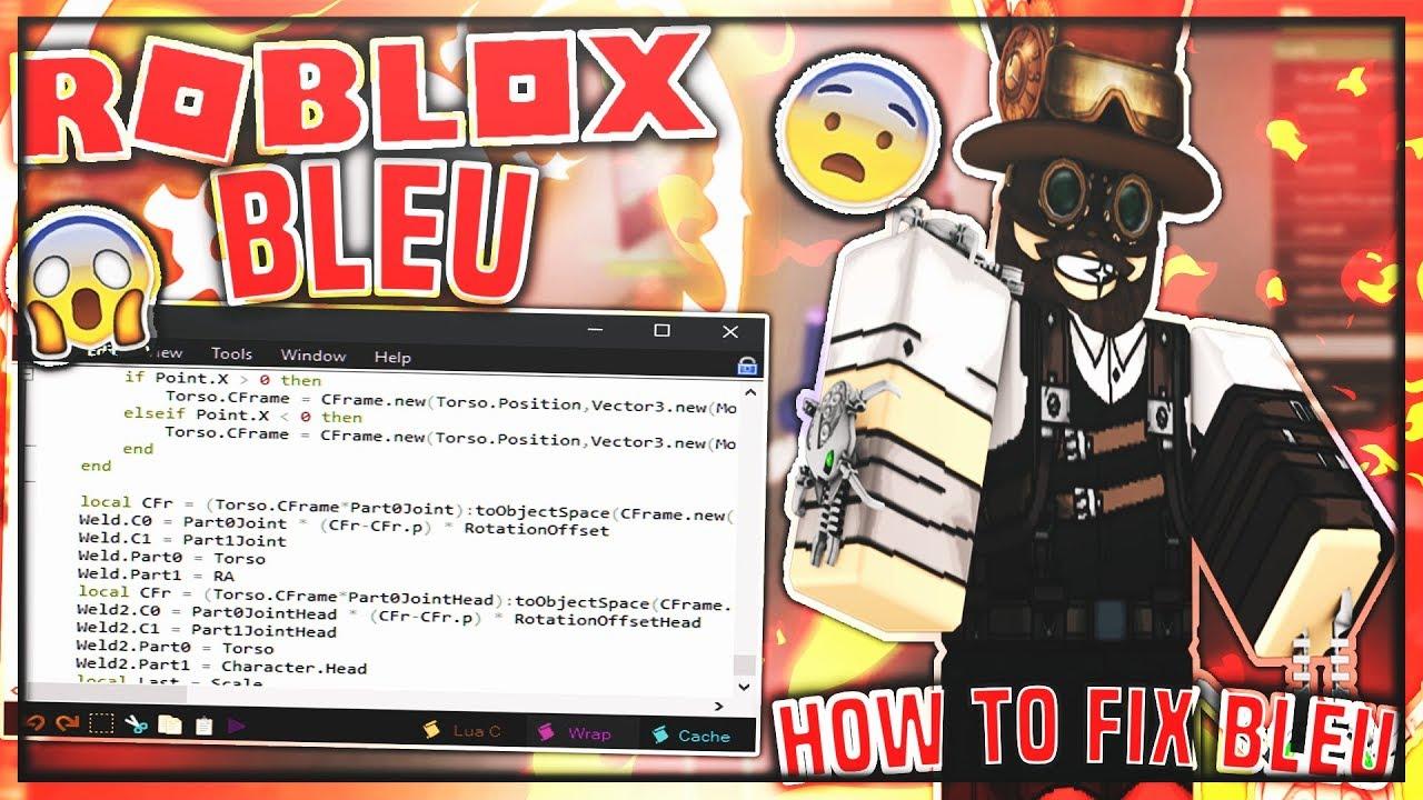 how to fix scrip error in roblox