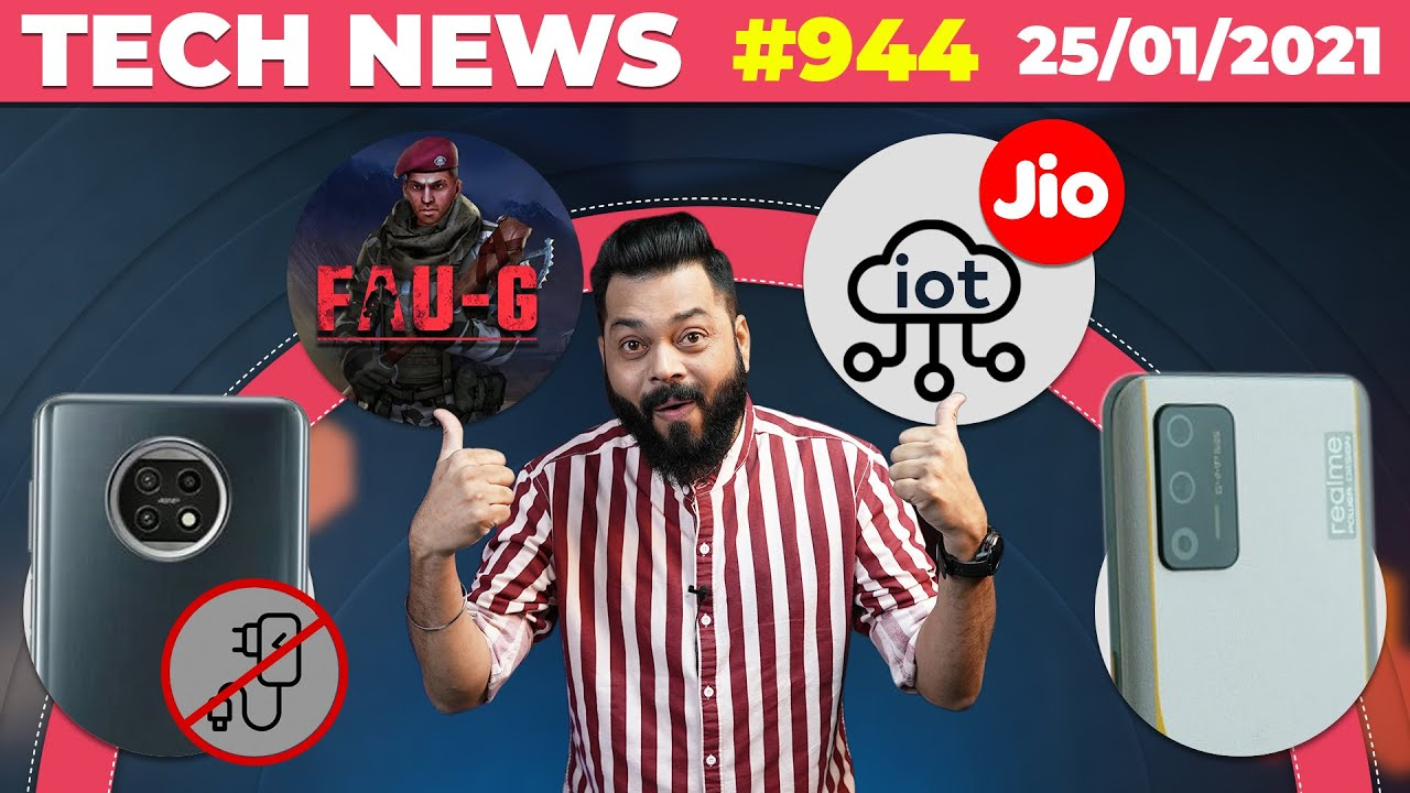 Download FAUG Gameplay?,Redmi Note 10 No Charger😐,Jio IOT, realme RACE Launch,realme Trimmer & Dryer-#TTN944