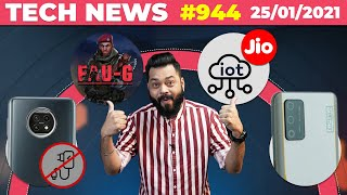 FAUG Gameplay?,Redmi Note 10 No Charger😐,Jio IOT, realme RACE Launch,realme Trimmer & Dryer-#TTN944