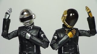 S.H. Figuarts Daft Punk Thomas Bangalter and Guy-Manuel de Homem-Christo Figure Review