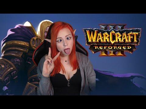 Обзор игры Warcraft III: Reforged кампания прохождение #2 Артас = Король Лич